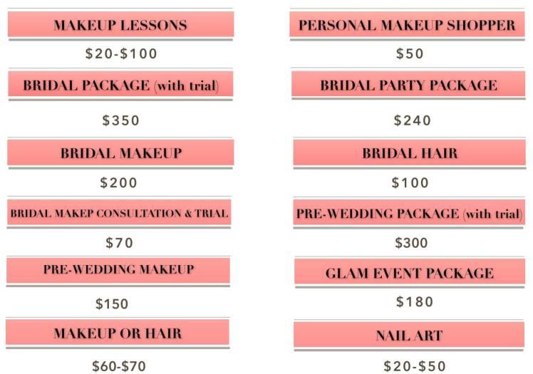 New Makeup Prices FINAL